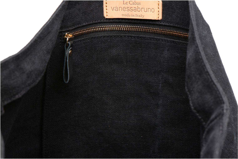 Sacs à main Vanessa Bruno Cabas Lin Œillet M+ Noir vue derrière