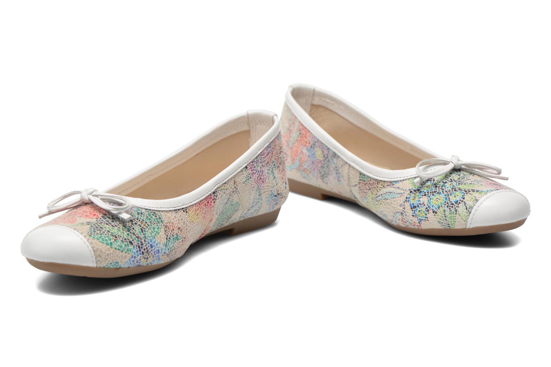 Ballet pumps Coco et abricot Ilse Multicolor 3/4 view