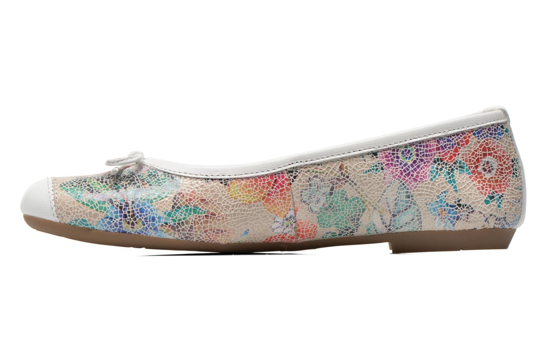 Ballet pumps Coco et abricot Ilse Multicolor front view