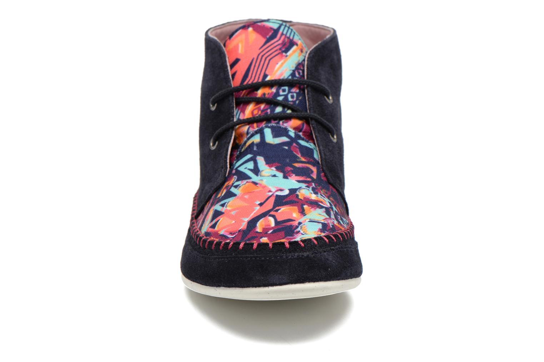 Schnürschuhe Yum Gum Nicki mehrfarbig schuhe getragen