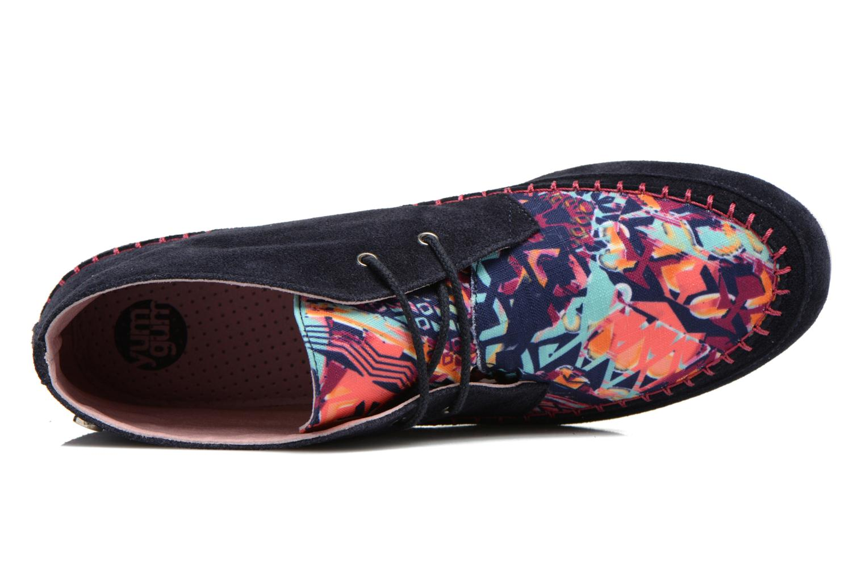 Chaussures à lacets Yum Gum Nicki Multicolore vue gauche