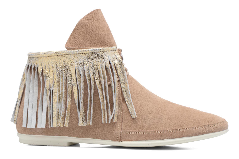 Bottines et boots Yum Gum Demi Glitter Beige vue derrière