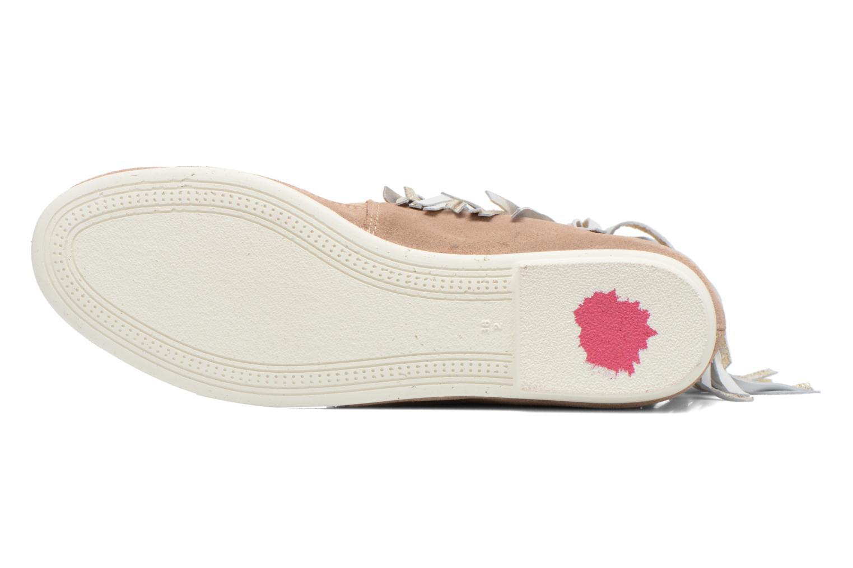 Stiefeletten & Boots Yum Gum Demi Glitter beige ansicht von oben