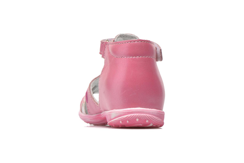 Sandali e scarpe aperte Bopy Balivel Rosa immagine destra