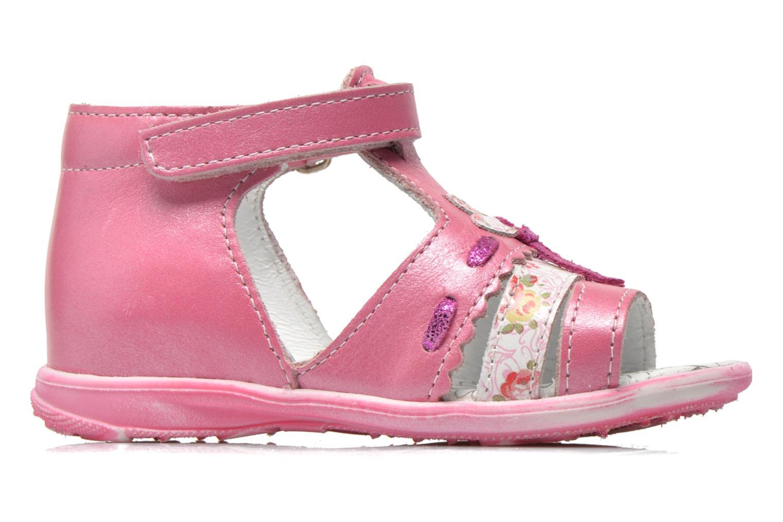 Sandali e scarpe aperte Bopy Balivel Rosa immagine posteriore