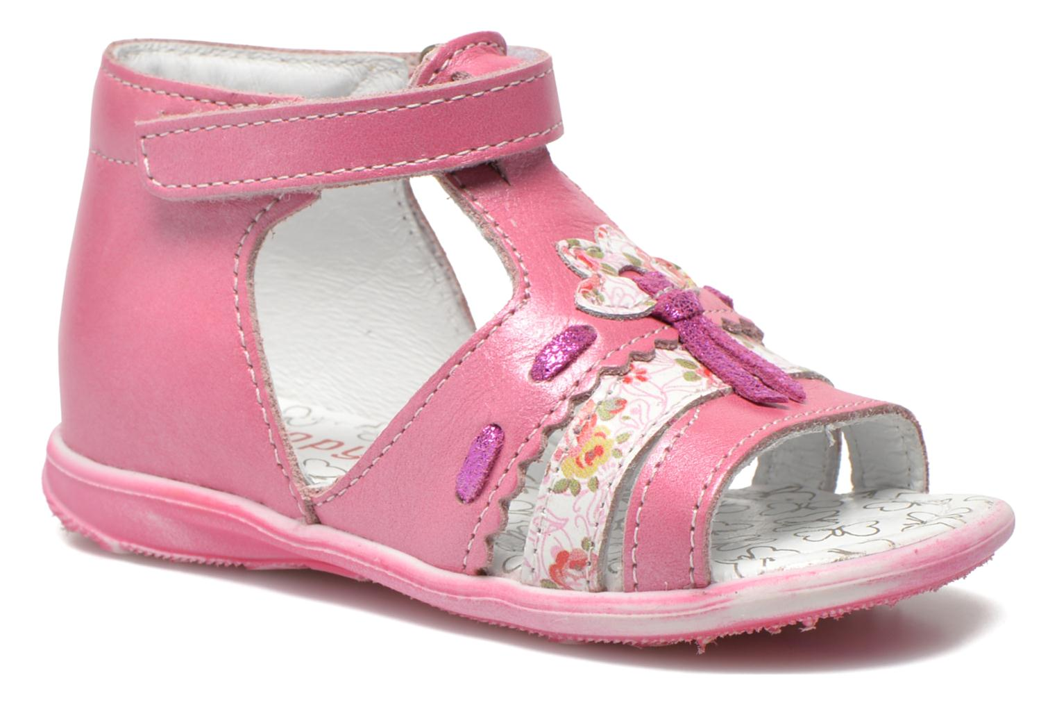 Sandals Bopy Balivel Pink detailed view/ Pair view