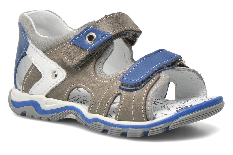 Sandaler Bopy Ben Grå detaljeret billede af skoene