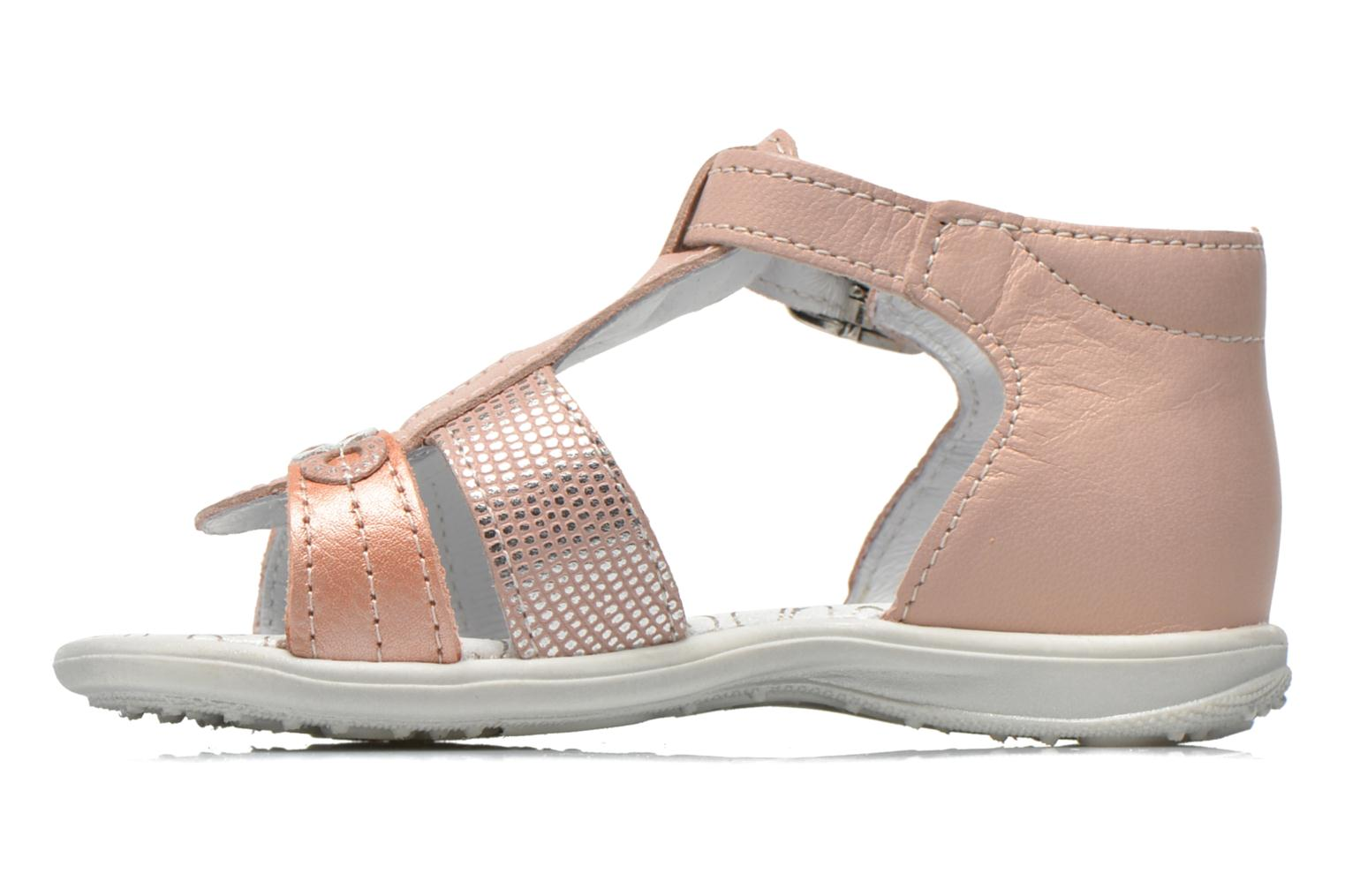 Sandals Bopy Berta Pink front view