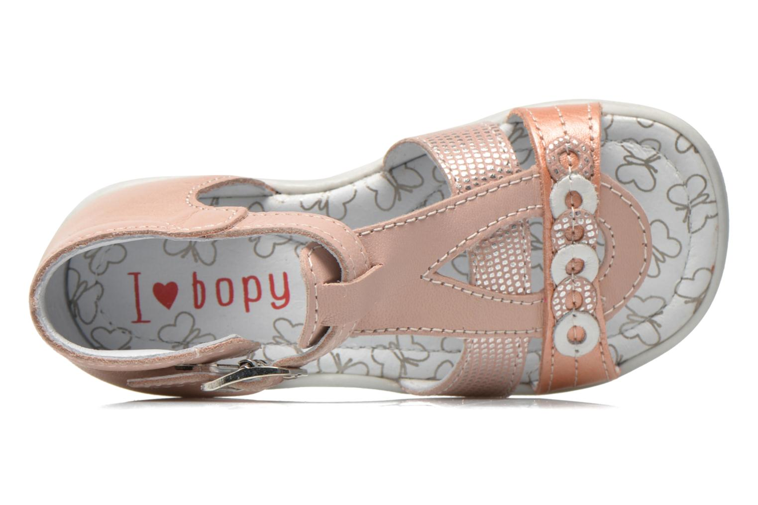 Sandals Bopy Berta Pink view from the left