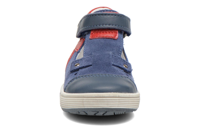 Chaussures à scratch Bopy Blog Bleu vue portées chaussures
