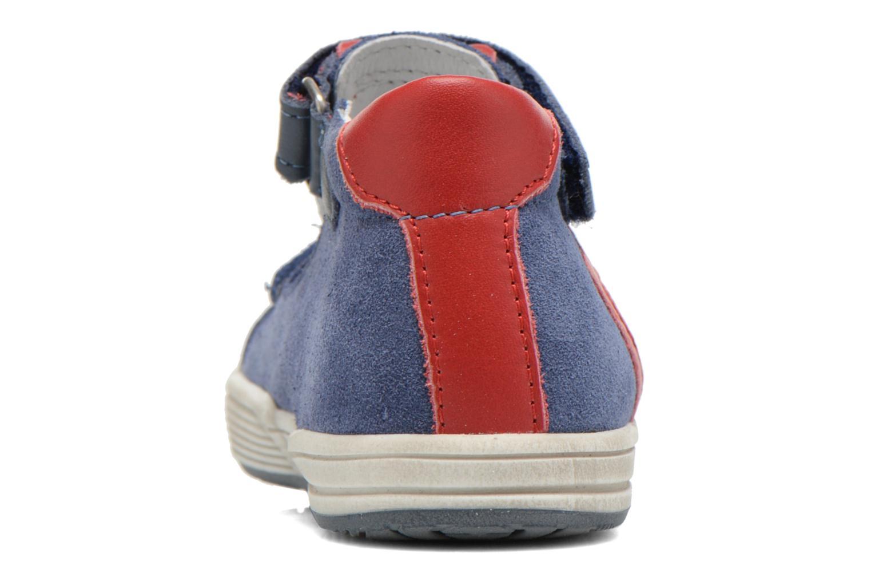 Chaussures à scratch Bopy Blog Bleu vue droite