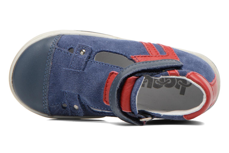 Chaussures à scratch Bopy Blog Bleu vue gauche