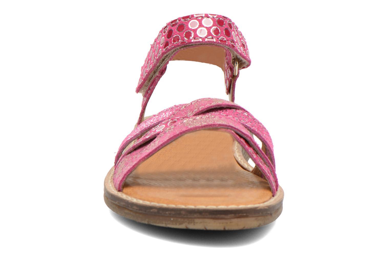 Sandales et nu-pieds Bopy Editara Rose vue portées chaussures