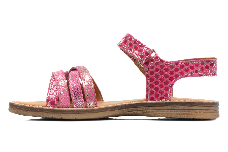 Sandales et nu-pieds Bopy Editara Rose vue face
