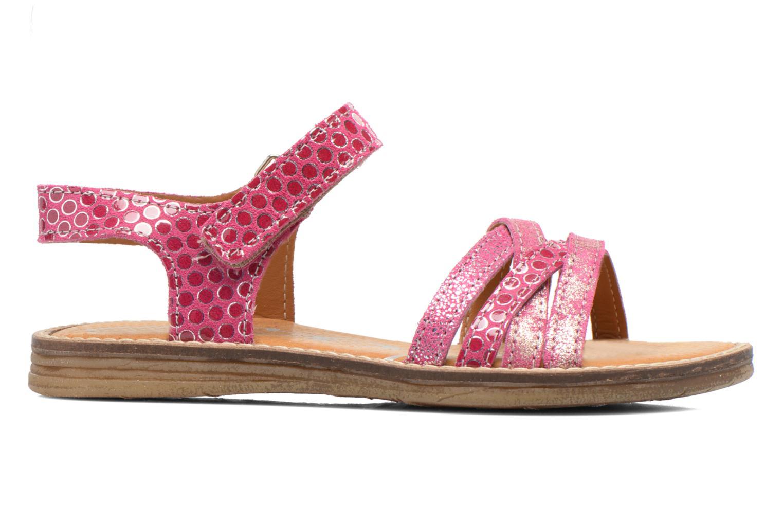 Sandales et nu-pieds Bopy Editara Rose vue derrière
