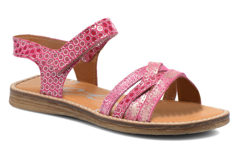 Sandales et nu-pieds Bopy Editara Rose vue détail/paire