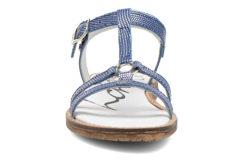 Sandales et nu-pieds Bopy Elea Bleu vue portées chaussures