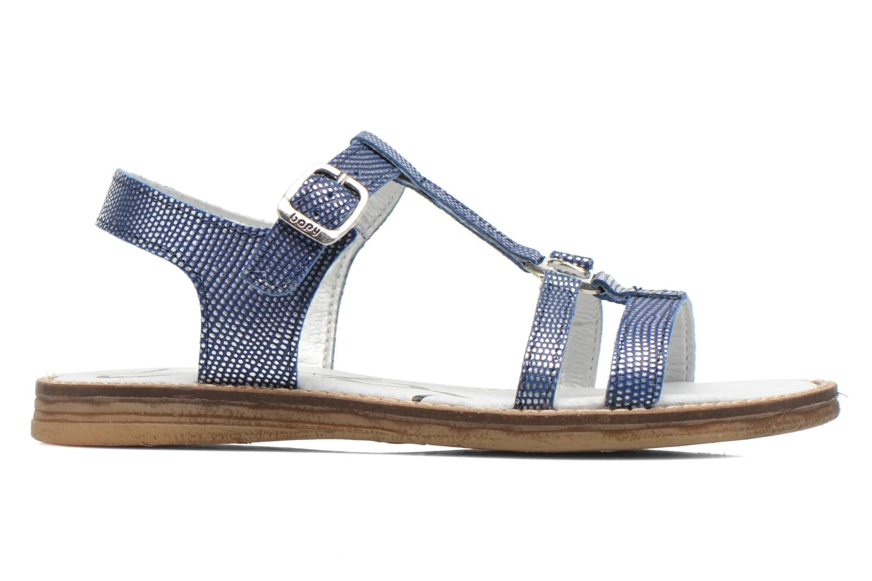 Sandales et nu-pieds Bopy Elea Bleu vue derrière