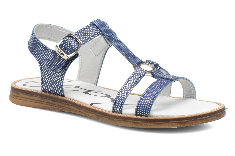 Sandales et nu-pieds Bopy Elea Bleu vue détail/paire