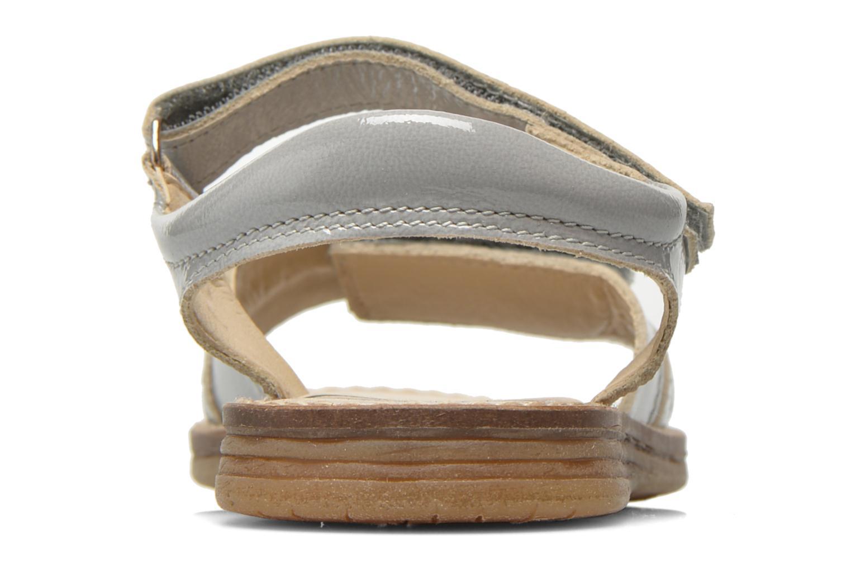 Sandalen Bopy Elysea grau ansicht von rechts
