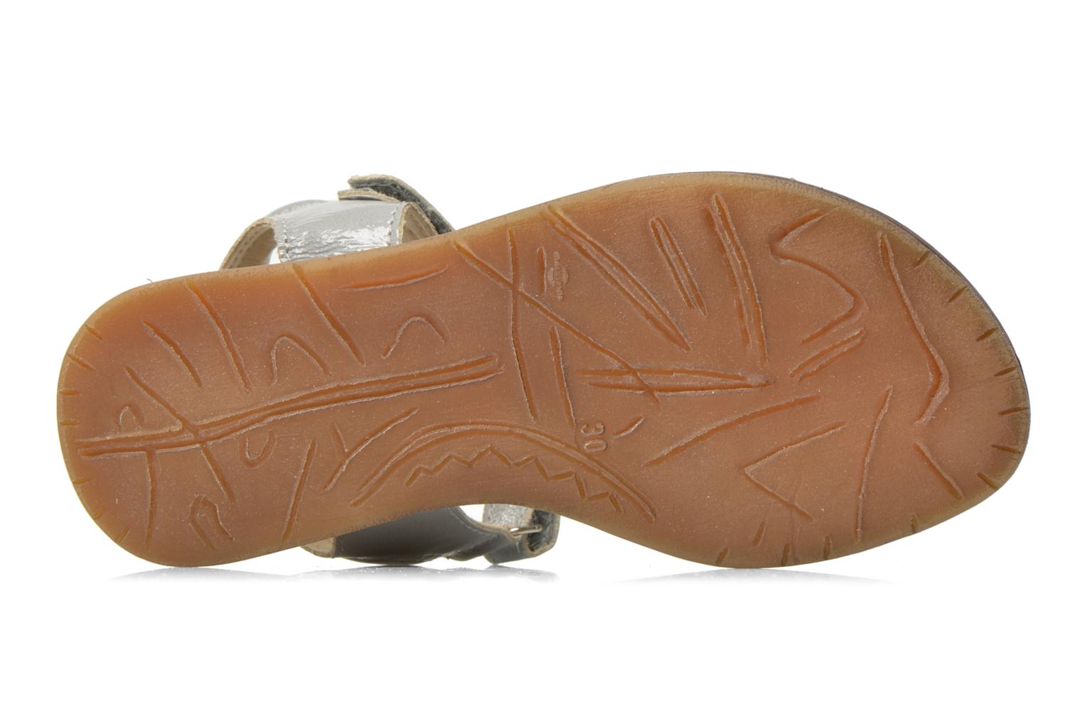 Sandals Bopy Elysea Grey view from above