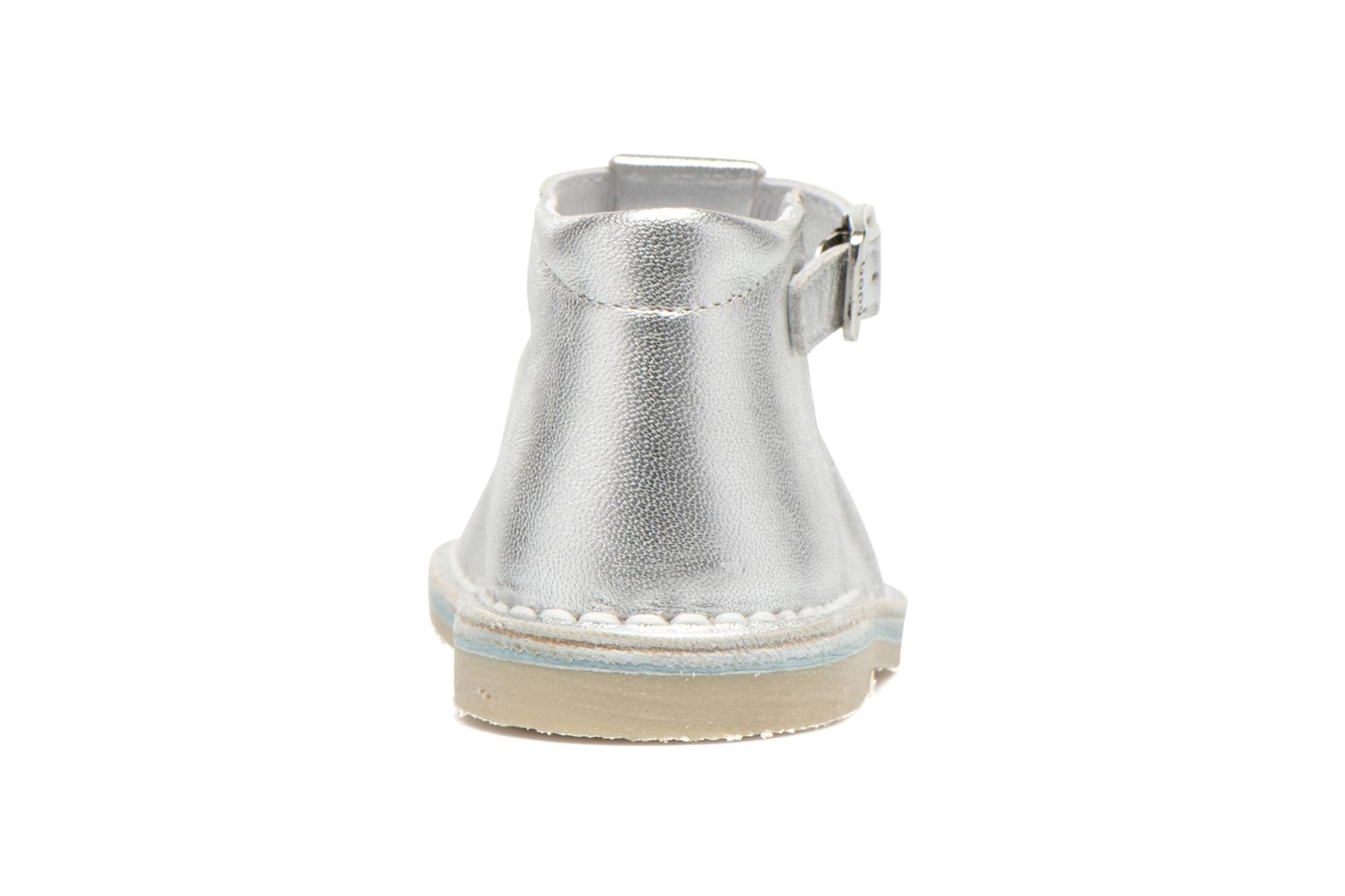 Summer boots Bopy Mapil Silver view from the right