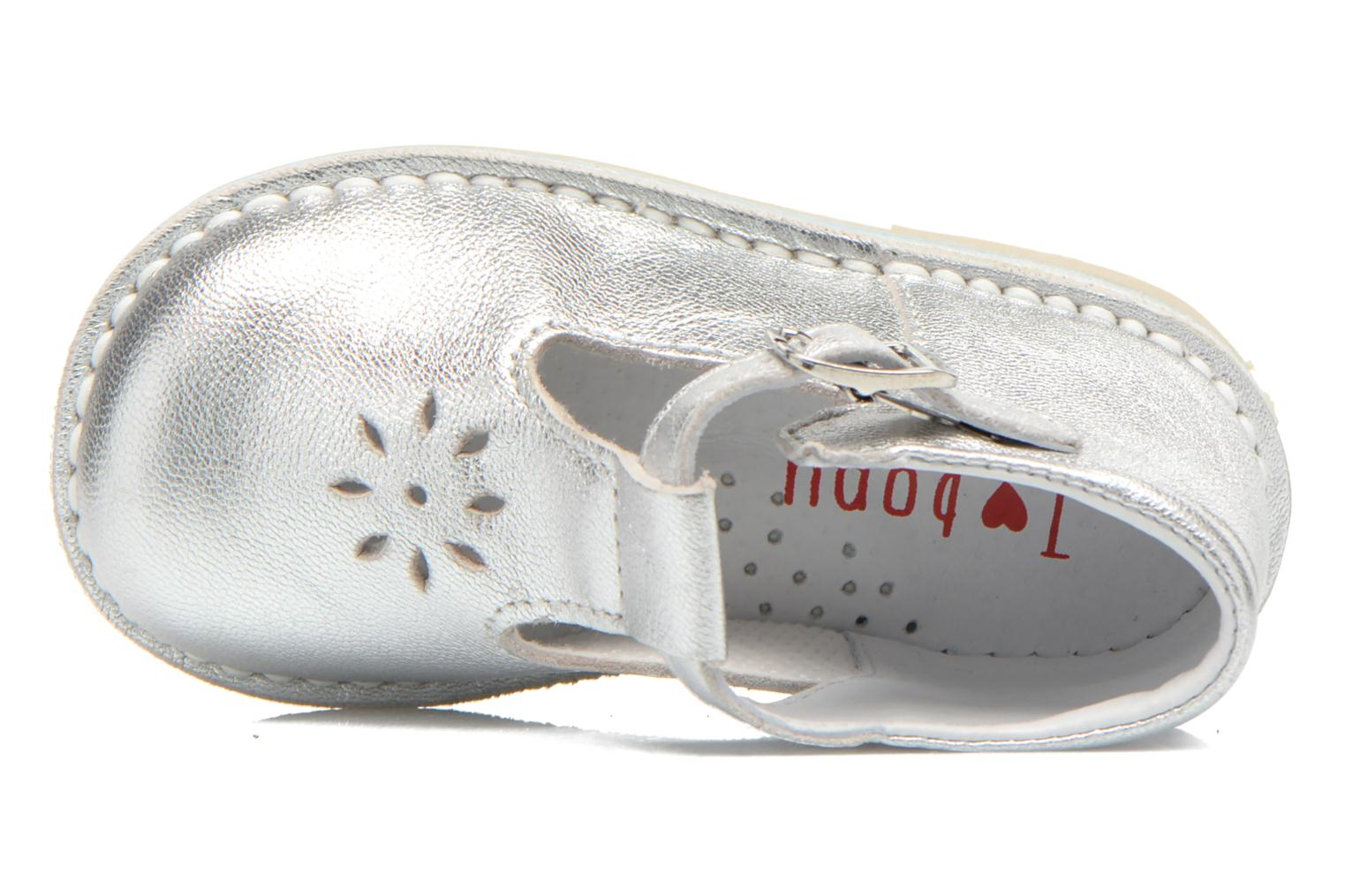 Summer boots Bopy Mapil Silver view from the left