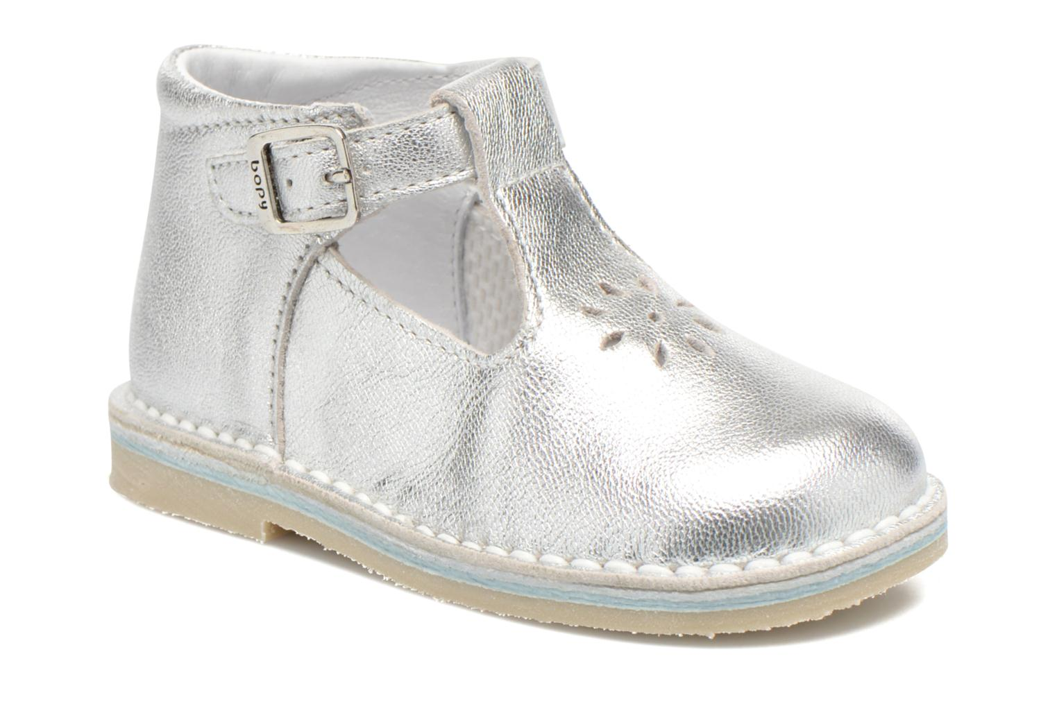 Summer boots Bopy Mapil Silver detailed view/ Pair view