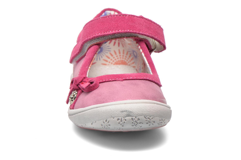 Ballerines Bopy Nocia Rose vue portées chaussures