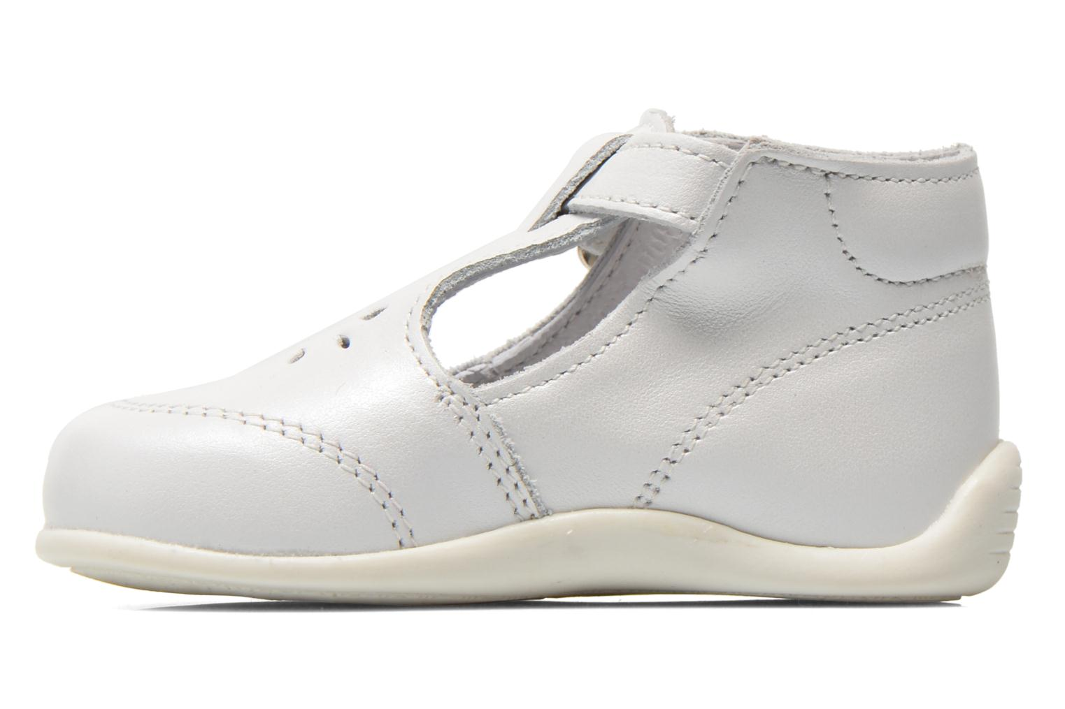 Summer boots Bopy Poumbo White front view