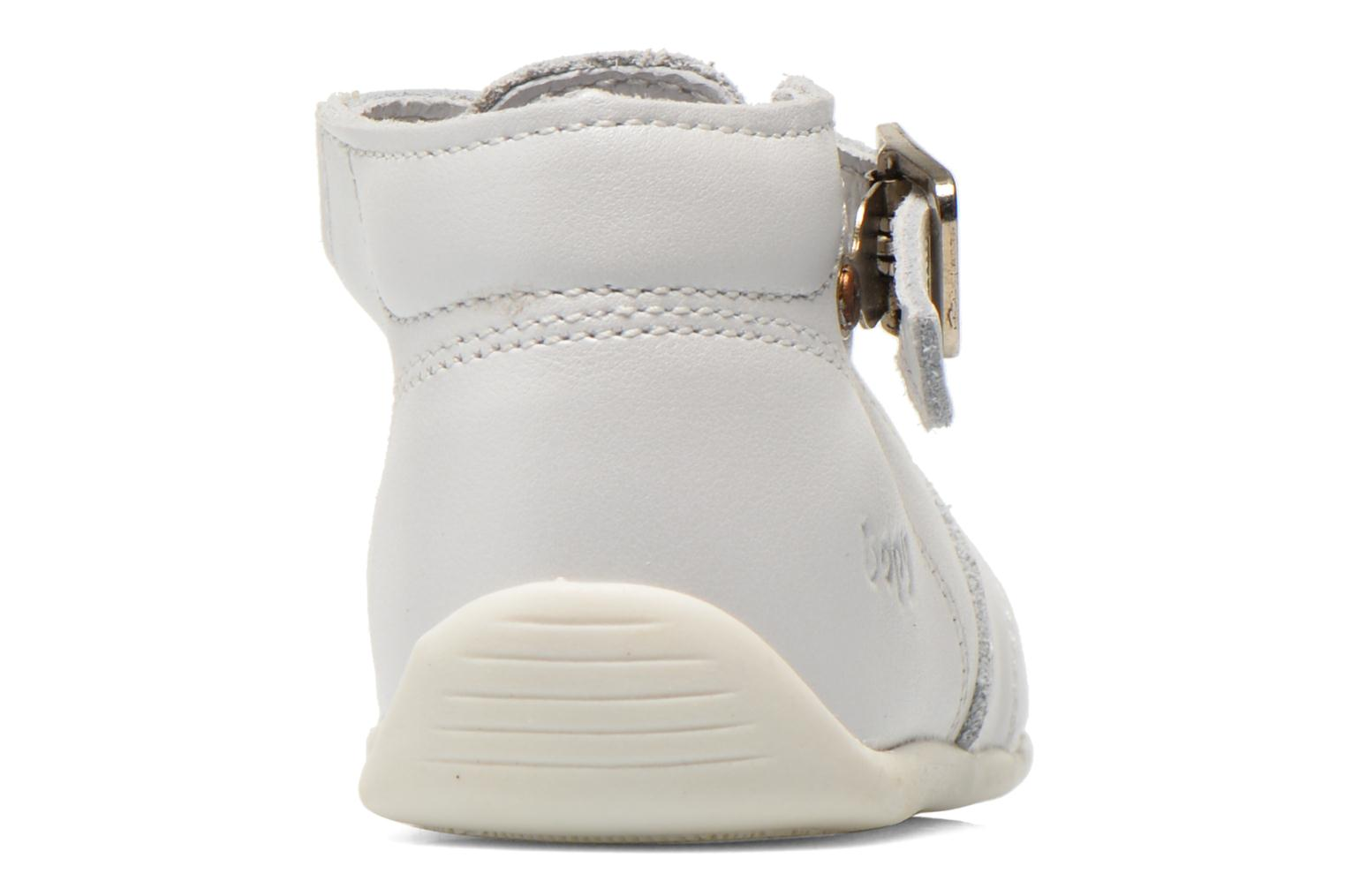 Summer boots Bopy Poumbo White view from the right