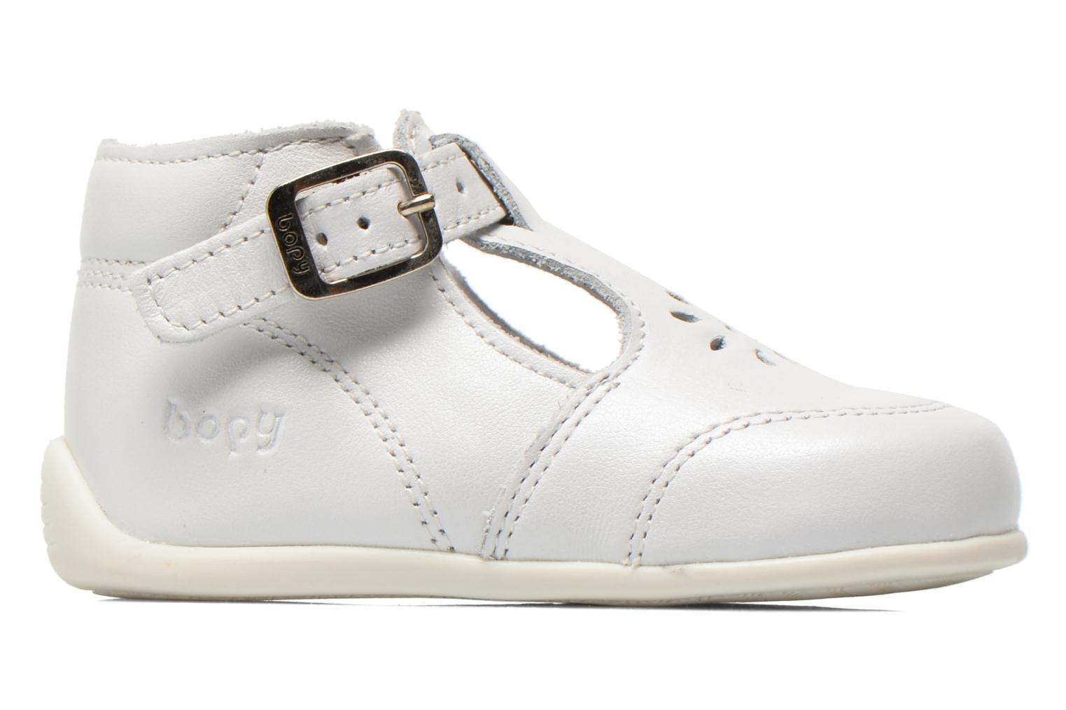 Summer boots Bopy Poumbo White back view