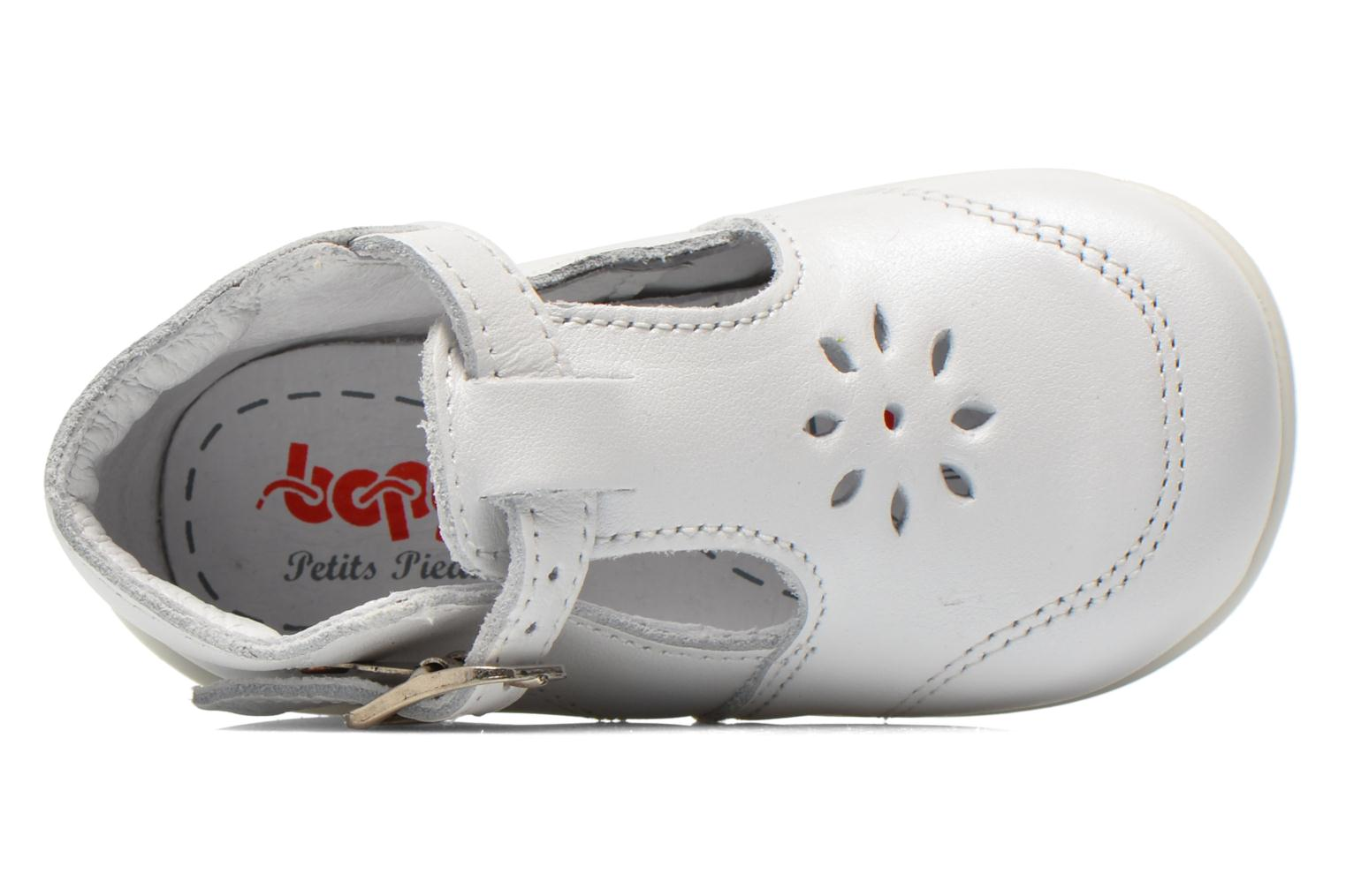 Summer boots Bopy Poumbo White view from the left