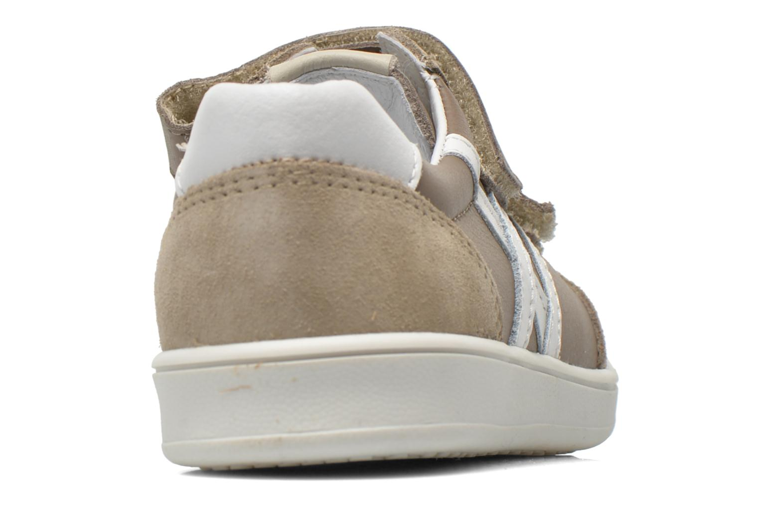 Trainers Bopy Velib Grey view from the right