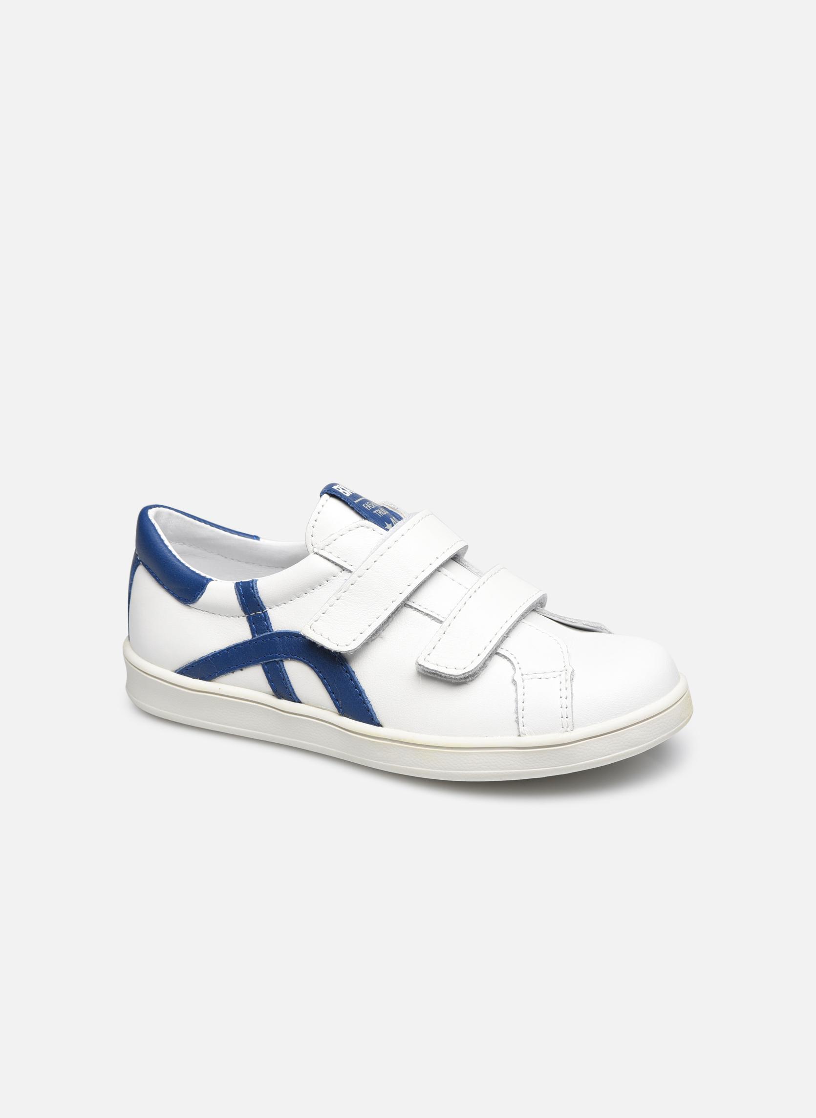 Blanc/bleu