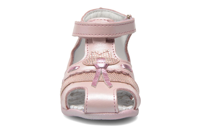 Sandales et nu-pieds Bopy Zamina Rose vue portées chaussures