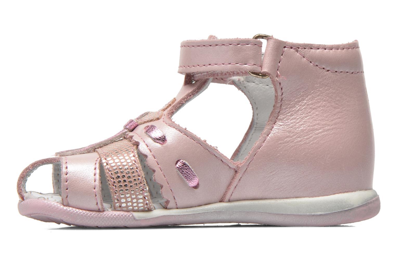 Sandali e scarpe aperte Bopy Zamina Rosa immagine frontale