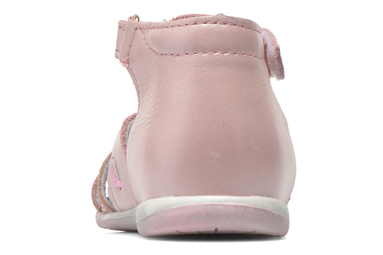 Sandales et nu-pieds Bopy Zamina Rose vue droite