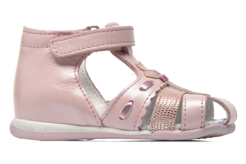 Sandali e scarpe aperte Bopy Zamina Rosa immagine posteriore