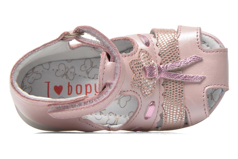 Sandales et nu-pieds Bopy Zamina Rose vue gauche