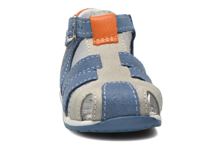 Sandales et nu-pieds Bopy Zephiro Bleu vue portées chaussures
