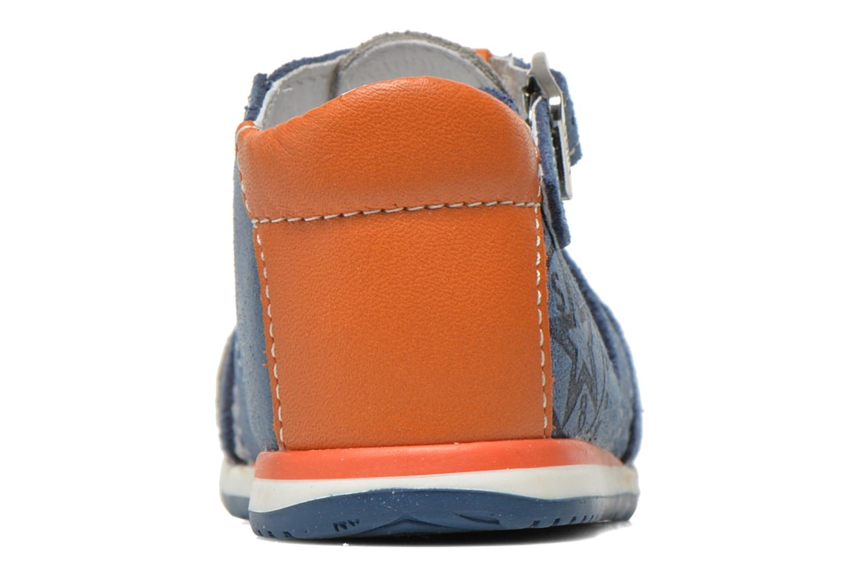 Sandalen Bopy Zephiro blau ansicht von rechts