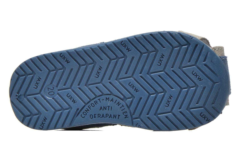 Sandalen Bopy Zephiro blau ansicht von oben