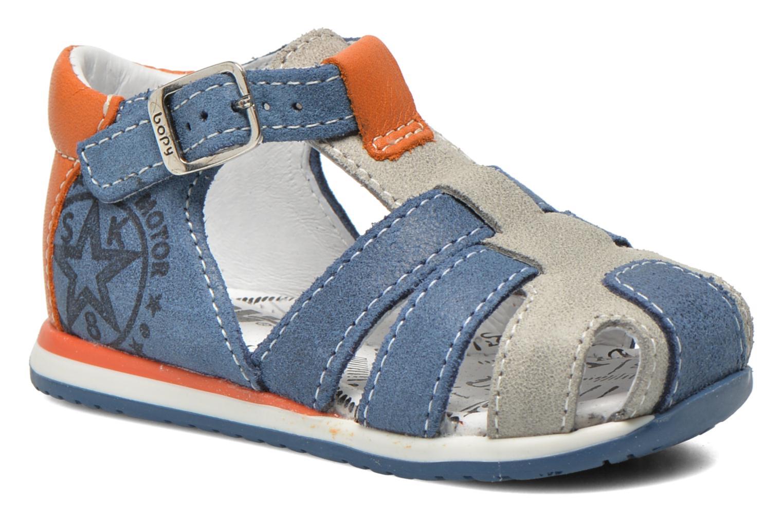 Sandals Bopy Zephiro Blue detailed view/ Pair view