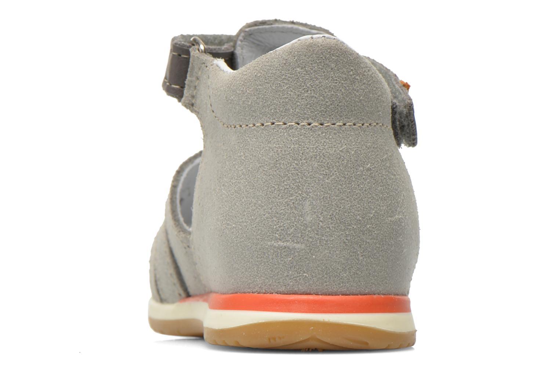 Sandales et nu-pieds Bopy Zook Gris vue droite