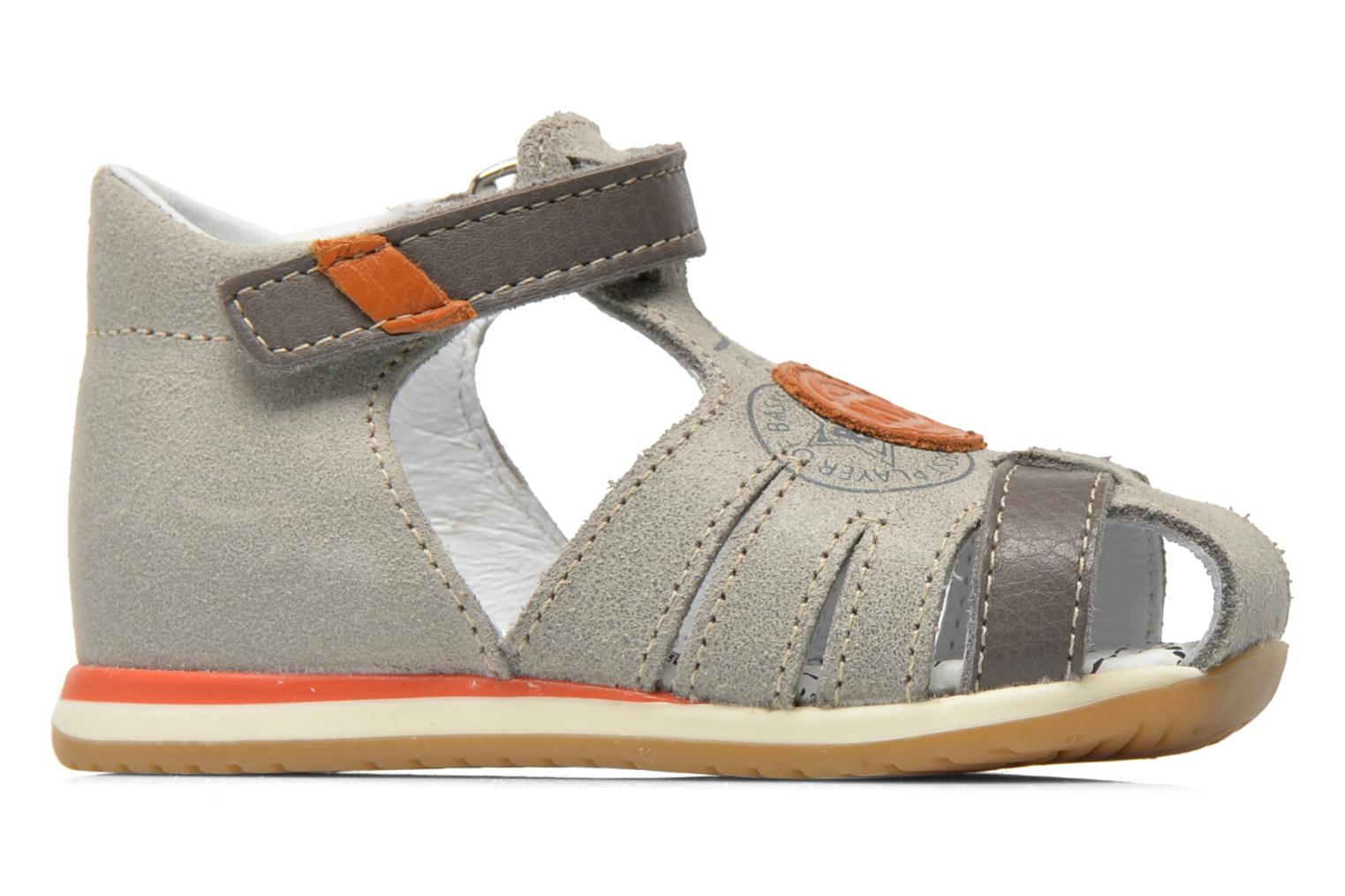Sandals Bopy Zook Grey back view