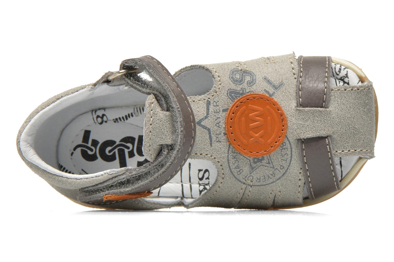 Sandals Bopy Zook Grey view from the left