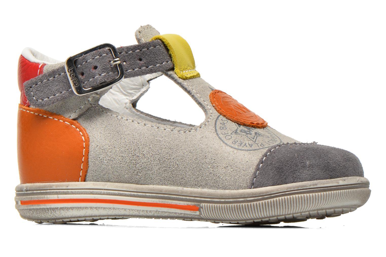 Summer boots Bopy Zurazi Grey back view