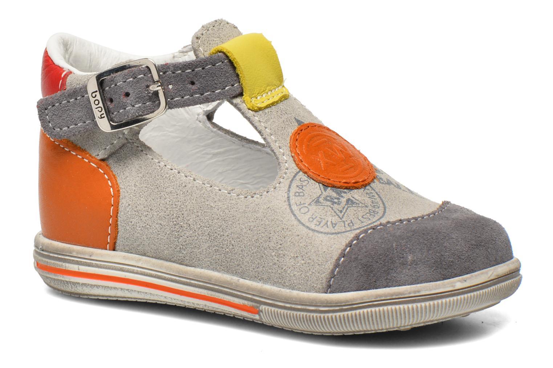 Summer boots Bopy Zurazi Grey detailed view/ Pair view