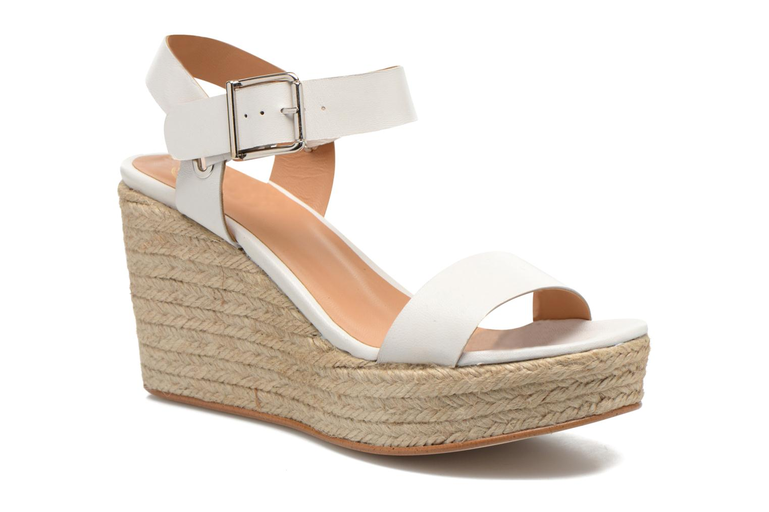 Sandals Made by SARENZA Menthe Hello #18 White view from the right